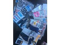 Men's health magazines