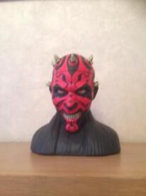 Star Wars Darth Maul cookie jar