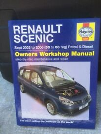 RENAULT SCENIC Haynes Owners workshop Service and Repair Manual