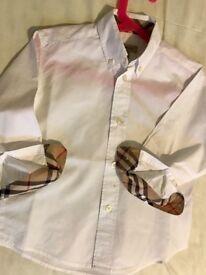 Burberry toddler shirt