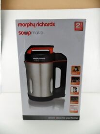 'morphy richards' soup maker, new in box, still under guarantee for 18 months