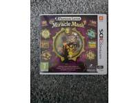 3DS professor layton and the miracle mask game