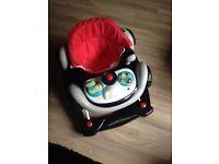 Baby race car walker