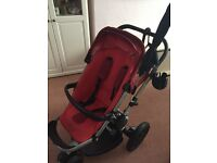 Quinny buzz red pushchair