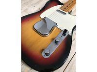 Fender Telecaster Vintage 1973 Sunburst with Maple Fretboard