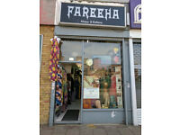 Commercial shop lease key for sale / Rent Location Upton Park / Green Street E13 9AP East london