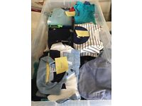 Bundles of baby boy clothes ( variety of sizes)