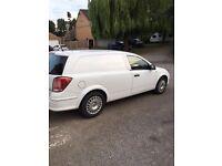 White Vauxhall Astra van 1.7 cdti. 6 months mot. 28000 miles. Electric windows. Excellent condition