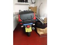 Pizza Delivery Motor bike like new2013