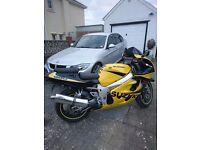 Suzuki GSXR 600 SRAD, 13100 miles, excellent condition