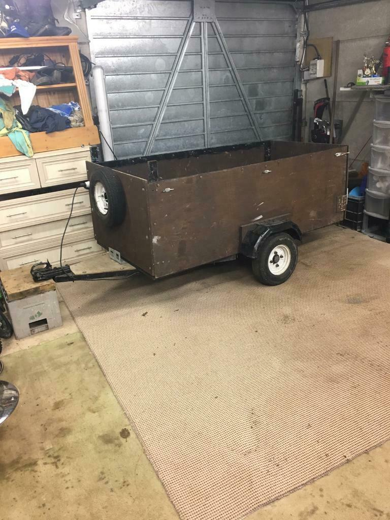 8 X 3 Box Trailer 1 Bike Trailer In Botley Hampshire Gumtree