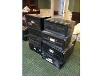 Vintage deed boxes