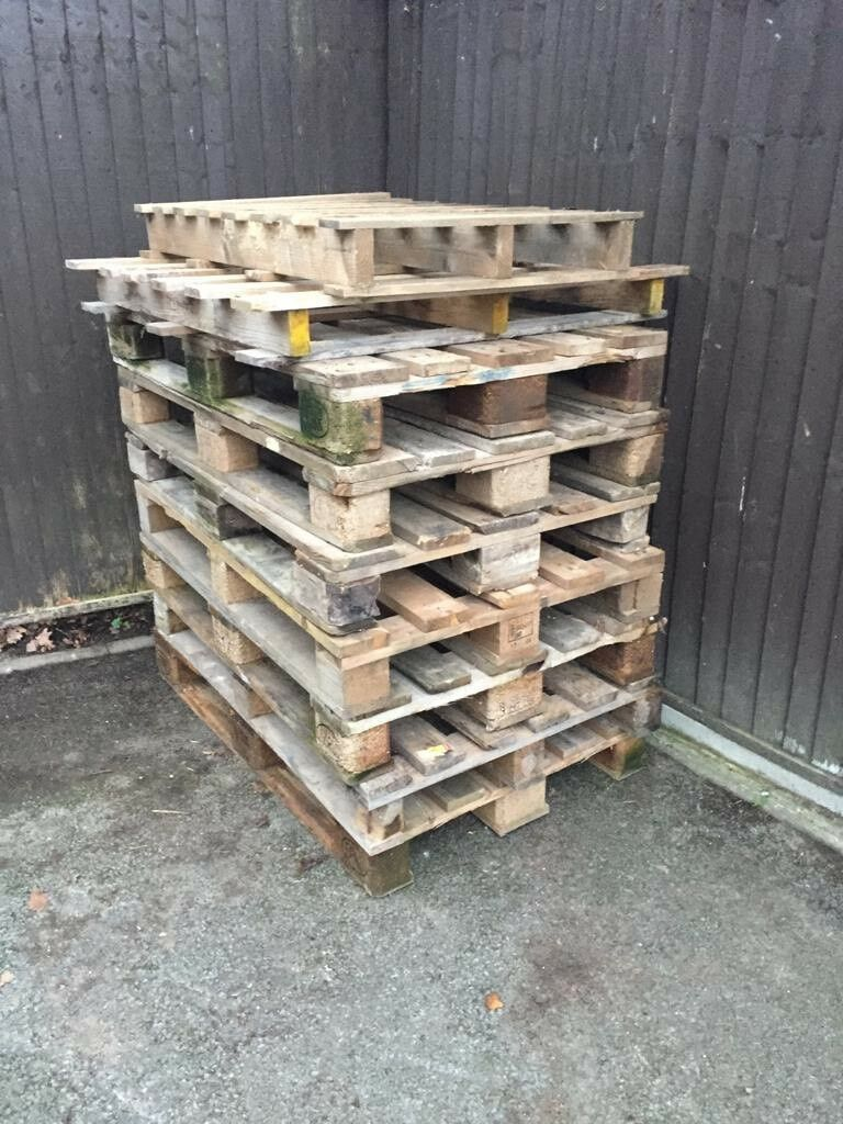 Sold Free Wood Shipping Pallets For Collection In