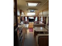 2017 Avante Elddis 840 Caravan, 1 year old Excellent condition fantastic modern Caravan, 6 berth