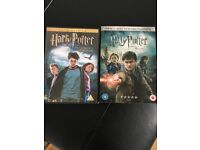 2 Harry Potter dvds