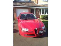 2004 Alfa 147 2.0 Twin Spark (spares or repairs)