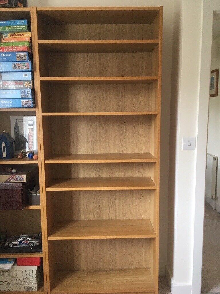 Ikea Billy Bookcase Oak Veneer In Colchester Essex Gumtree