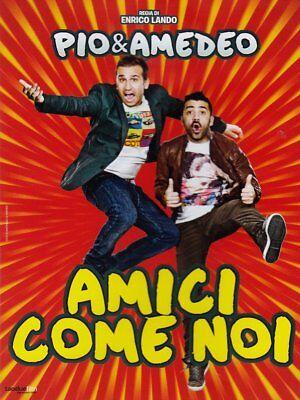 AMICI COME NOI CON PIO E AMEDEO (DVD) NUOVO, ITALIANO, ORIGINALE