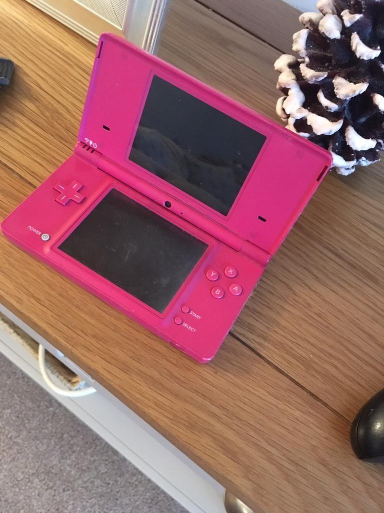 Pink Nintendo DSi