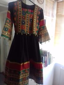 Gilrs stunning Afghani Oufit dress