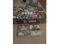 Dj hero ps3 and two games