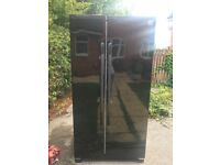 Daewoo black America Fridge freezer