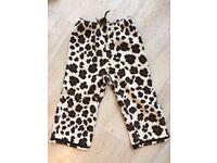 Mini Boden needlecord trousers various sizes animal print - Never worn