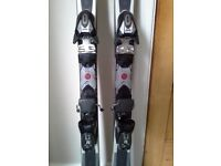 DIABOLO XTR BLIZZARD 151CM SKIS WITH BINDINGS