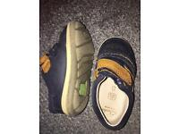Clarks boys shoes size 4f