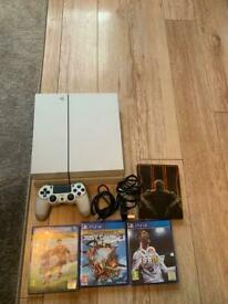 Sony PlayStation 4 Console with games