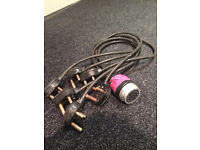 Socapex breakout spider cable to 6x plugs