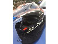 Youth motocross helmet wulfsport