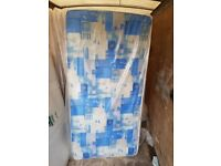 Brand New Single mattress padded spring 2 available free delivery