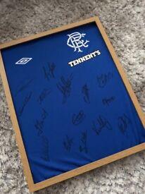 Signed Rangers Top Home Shirt Season 2012/13