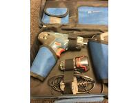 Bosch Professional 10.8 volt Lithium Ion Mini Drill / Screw Driver with case, charger and battery