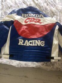 Motorbike jacket size large. Good condition
