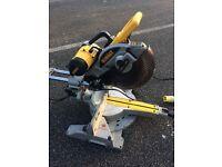 Dewalt DW717 XP Sliding compound mitre saw 250mm. 110v