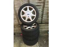 Ford steel rims and tyres