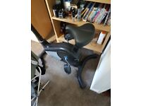 Exercise bike with LED screen