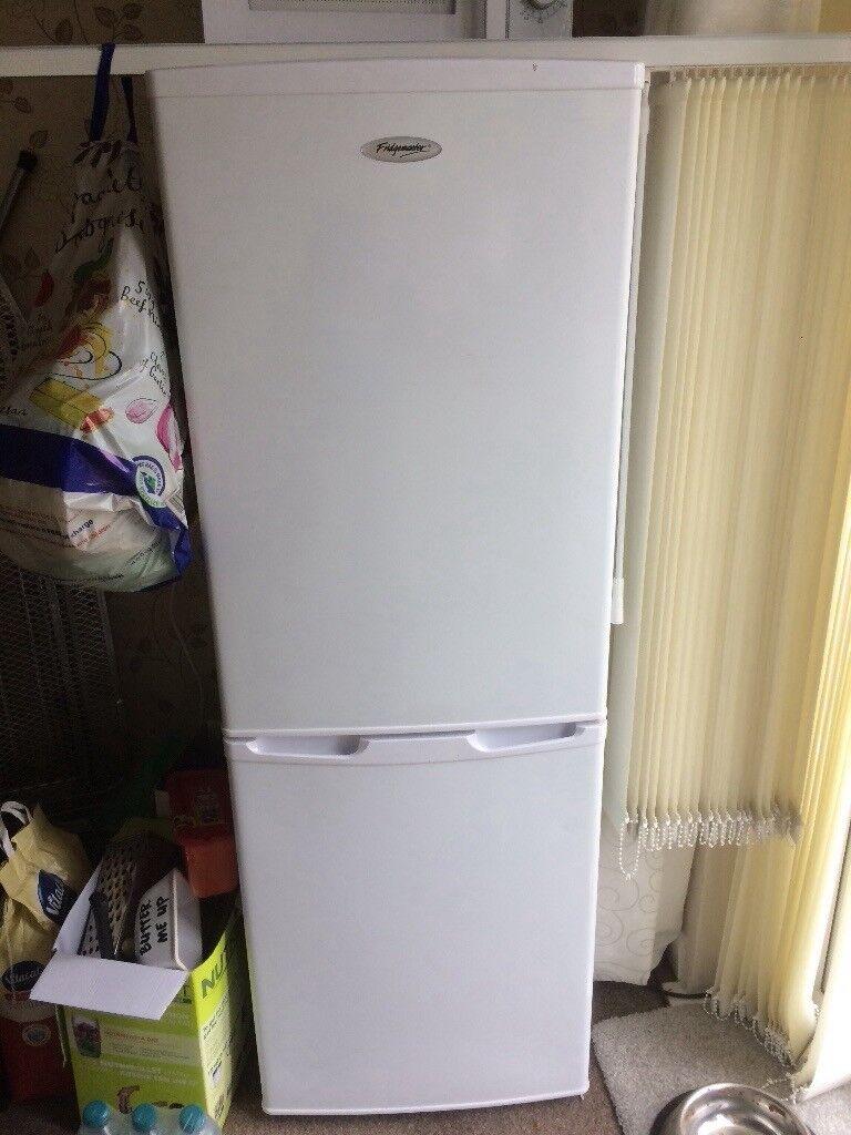 White fridge freezer