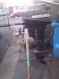 MERCURY 10HP OUTBOARD ENGINE LONGSHAFT MODEL