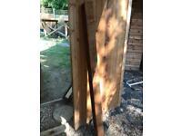 4x4 wooden posts