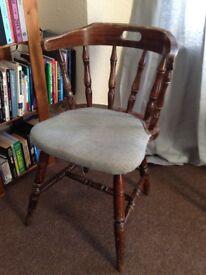 Pub Chair x2 - Vintage (Captains, Admiral design) Restored