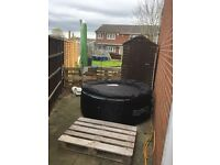 Lazy boy inflatable spa for sale.