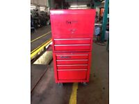 """Snap On Tool Box 26"""" Bottom Box & Top 2 boxes includes."""