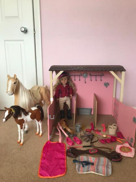 09d22e27b63e Our Generation stables horses and doll | in Sunbury-on-Thames ...