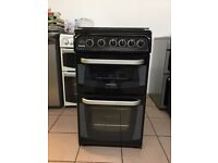 "Cannon gas cooker 50cm black double oven 3 months warranty """""""""""""""""