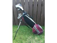 Children's US Kids Golf bag and clubs