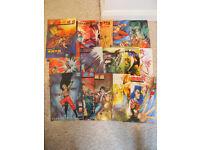 Various Manga comics