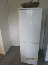 LEC Fridge Freezer model TF50152W 3 years old in excellent condition and in full working order.